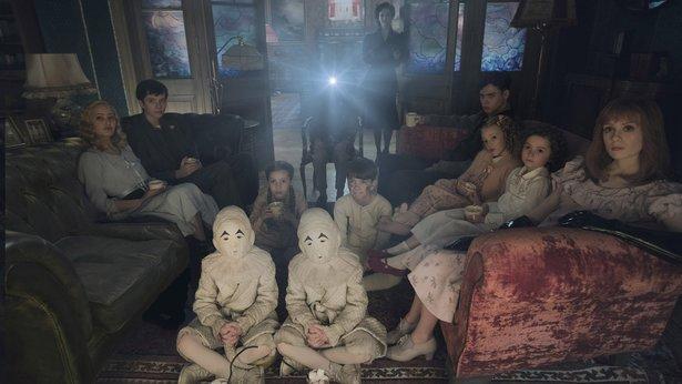 "Tim Burton adapts Ransom Riggs' ""Miss Peregrine's Home for Peculiar Children."""