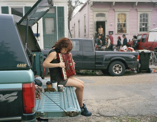 "Justine Kurland's ""Claire, 8th Ward, 2012,"" © Justine Kurland, courtesy Mitchell-Innes & Nash Gallery, New York"