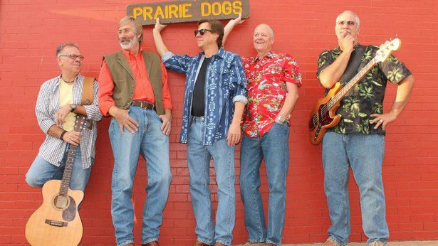 The Prairie Dogs will headline Starlight Theater on Tuesday.