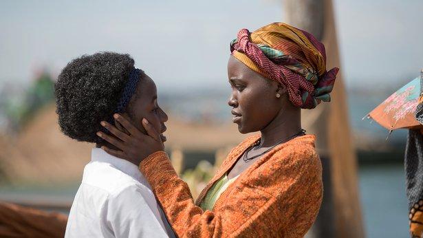 """Madina Nalwanga and Lupia Nyong'o star in """"Queen of Katwe."""""""