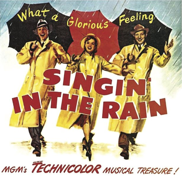 """Singing in the Rain"" kicks off Cinemark's Summer Classics Series."