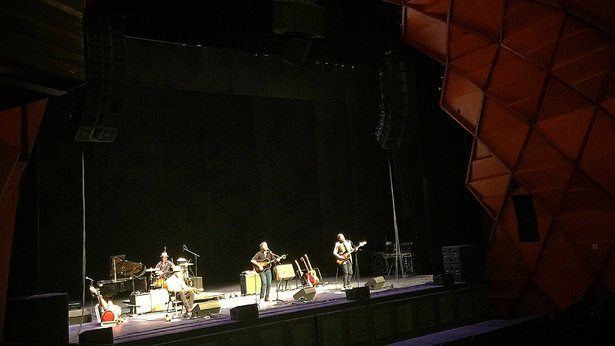 Strangetowne performed Aug. 19 during the Create Festival in the Globe-News Center for the Performing Arts.