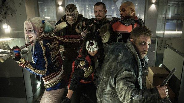 "Crocs and swordswomen and killer shots unite in ""Suicide Squad."""