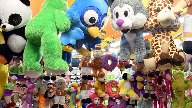 Prizes awaited carnivalgoers at last year's Amarillo Tri-State Fair.