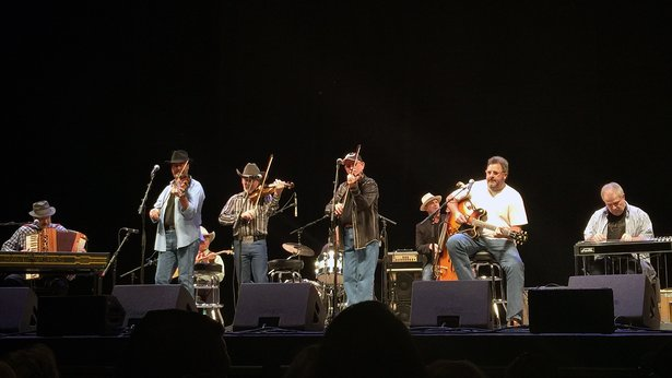 The Time Jumpers performed July 22 in the Globe-News Center for the Performing Arts.