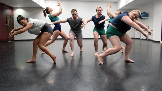 "West Texas A&M University dancers will perform in ""Falling into Dance"" through Saturday."