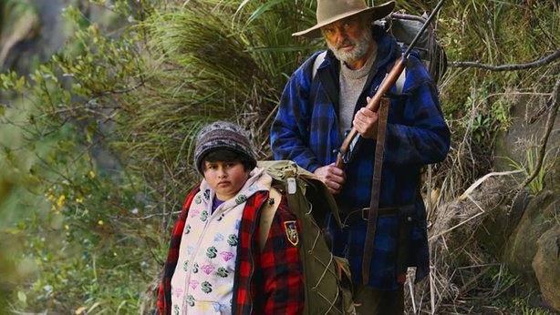 "Julian Dennison and Sam Neill star in ""Hunt for the Wilderpeople."""