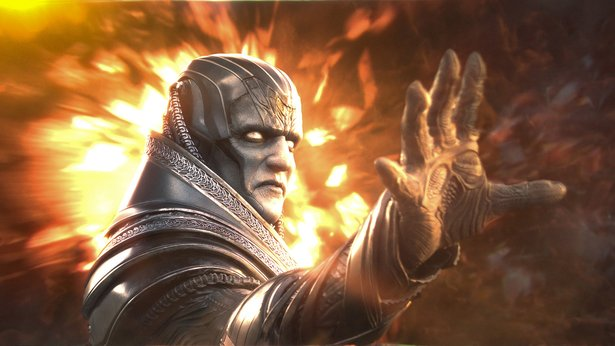 "Oscar Isaac as the titular bad guy in ""X-Men: Apocalypse"""