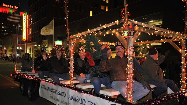 Center City of Amarillo's Electric Light Parade is Friday in downtown Amarillo.