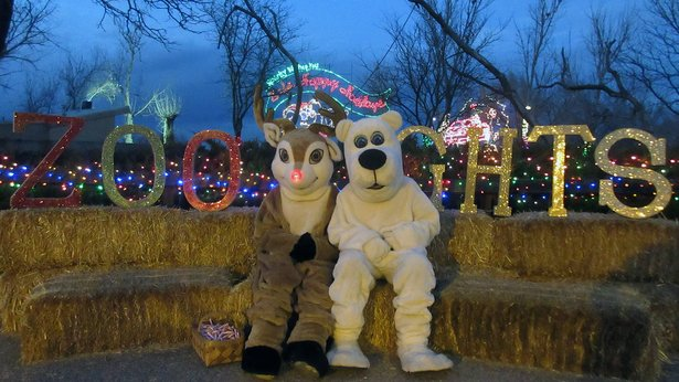 Amarillo Zoo's Zoo Lights continues through Dec. 23.