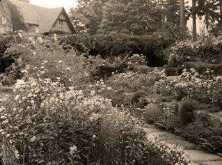 Landscape of Thornewood Castle Inn and Gardens.