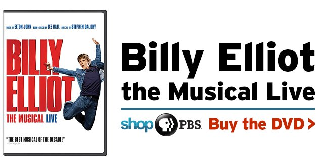 Shop PBS: Billy Elliot the Musical Live (DVD)