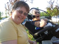 Diana and Kathy travel the country screening Body & Soul: Diana & Kathy and work as tireless advocates for people with disabilities.