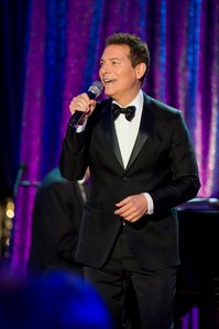 Michael Feinstein performing in the Rainbow Room.