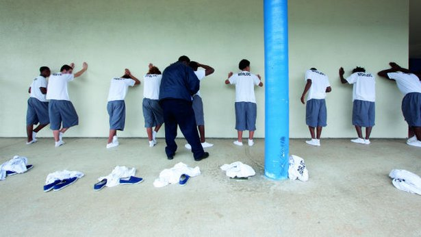 Youth inmates in Miami.