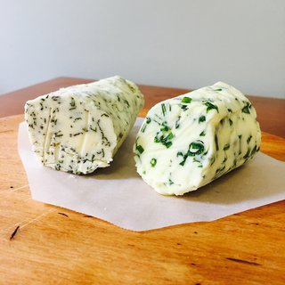 Herb butters preserve summer flavor.