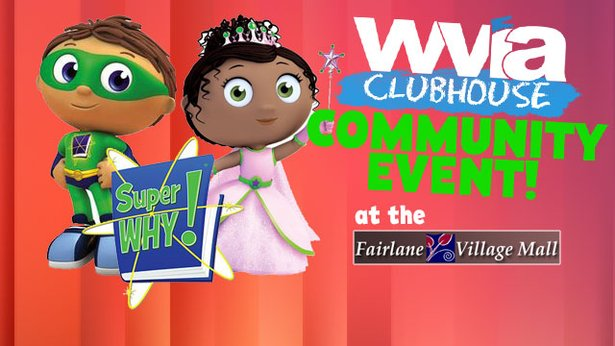 SuperWHY at the Fairlane Village Mall