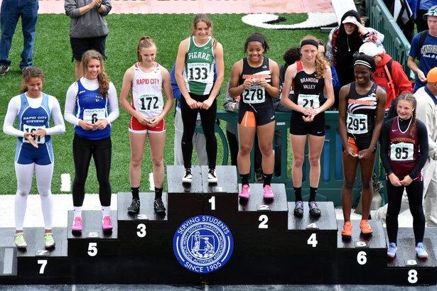 2016 Class AA Girls 100m Dash