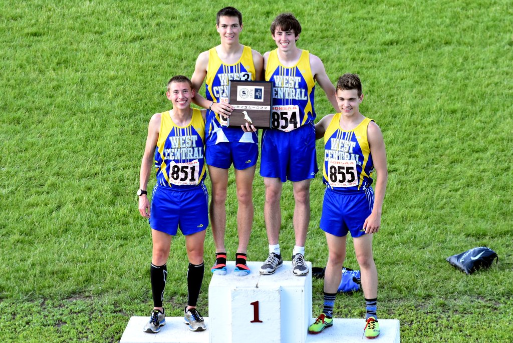 2016 Class A Boys 3200m Relay - West Central