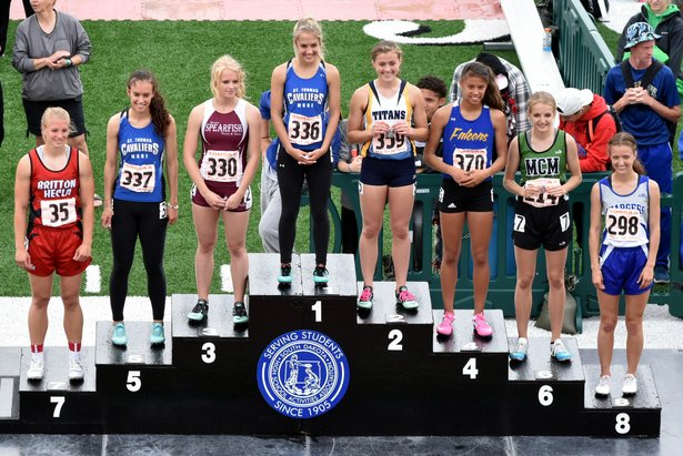 2016 Class A Girls 100m Dash