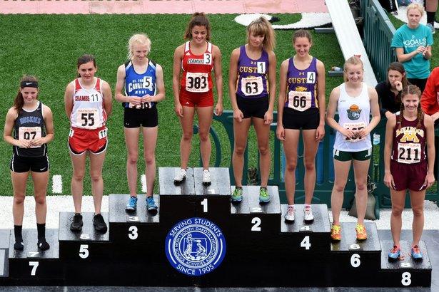 2016 Class A Girls 1600m Run