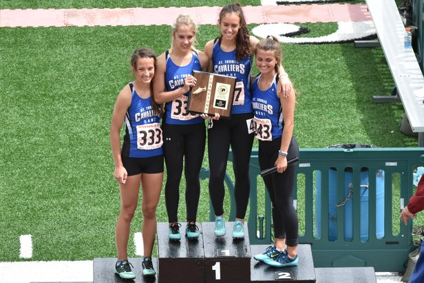 2016 Class A Girls 800m Relay - St. Thomas More