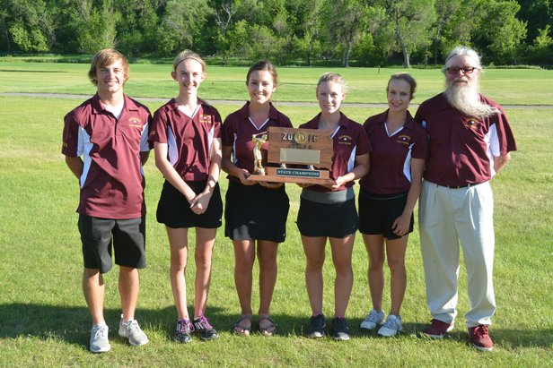 2016 Girls B Champions Deubrook Area