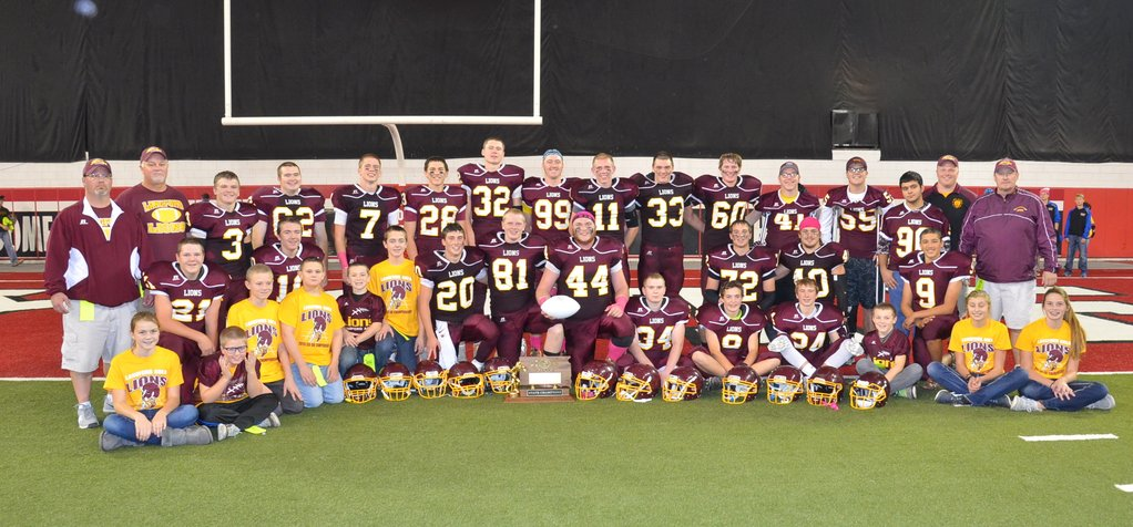 2015 Lanford Area Football Team