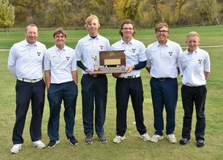 2016 Class A Boys Golf 1st Tea Area.JPG