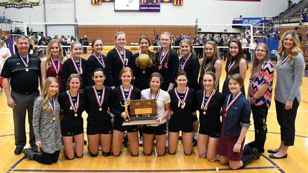 2016 Class A Volleyball 1st Place - Dakota Valley