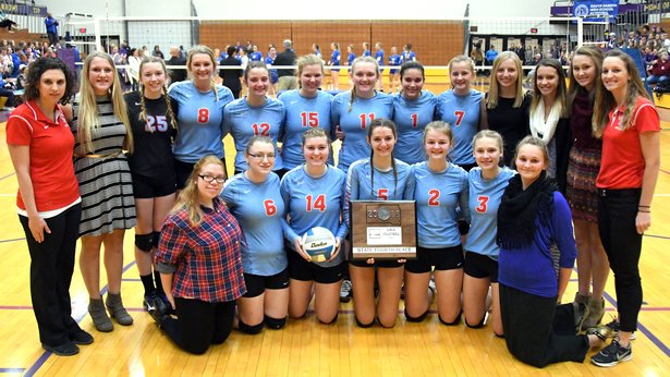 2016 Class A Volleyball 4th Place - Bon Homme