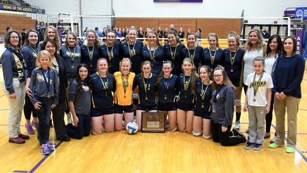 2016 Class A Volleyball 6th - Sioux Valley