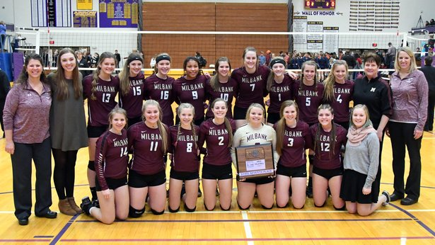 2016 Class A Volleyball 7th Place - Milbank Area