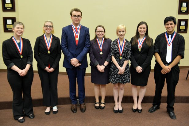 2016 Class AA Oral Interp - Serious Reading