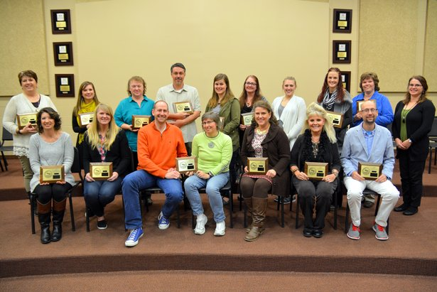 2016 Class A State Oral Interp - Team Awards