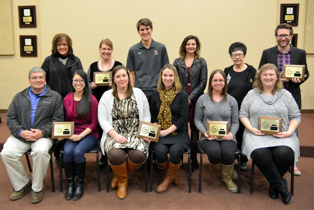 2016 Class AA State Oral Interp - Team Awards