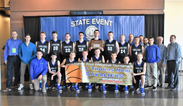 2017 Class A Boys BBall 6th place St Thomas More.JPG