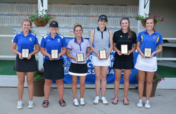 2017 Class A Girls Golf All Tournament Team.JPG