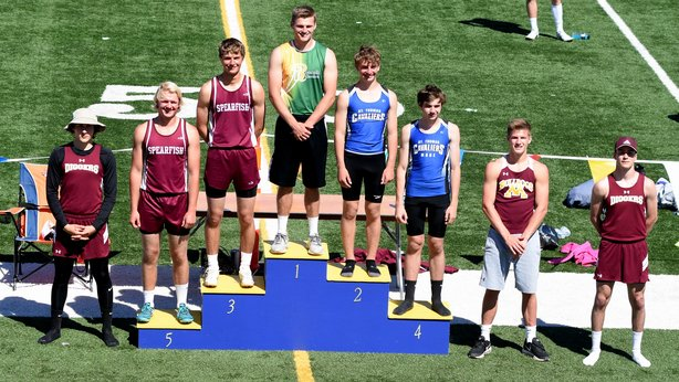 2017 Class A State Track Boys Pole Vault