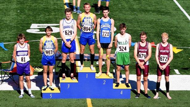 2017 Class A State Track Boys 3200m Run