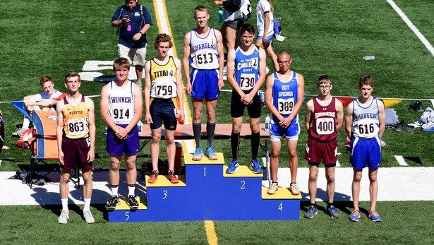 2017 Class A State Track Boys 800m Run