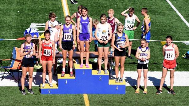 2017 Class A State Track Girls 3200m Run