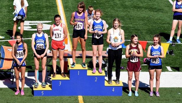 2017 Class A State Track Girls 800m Run