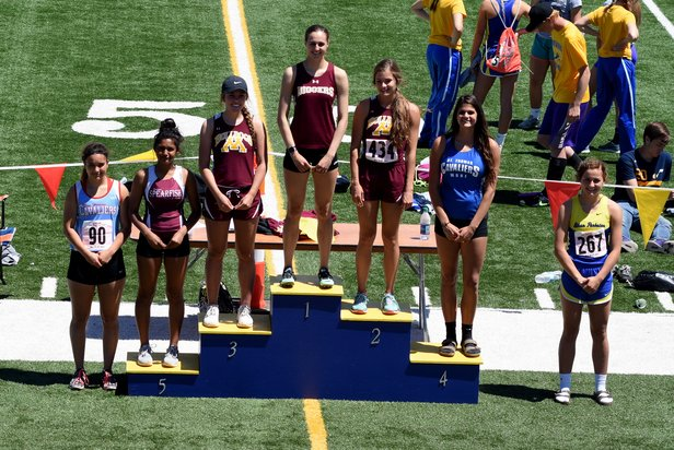 2017 Class A State Track Girls Pole Vault
