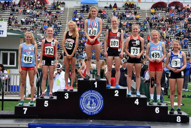 Class AA Girls 1600m Run