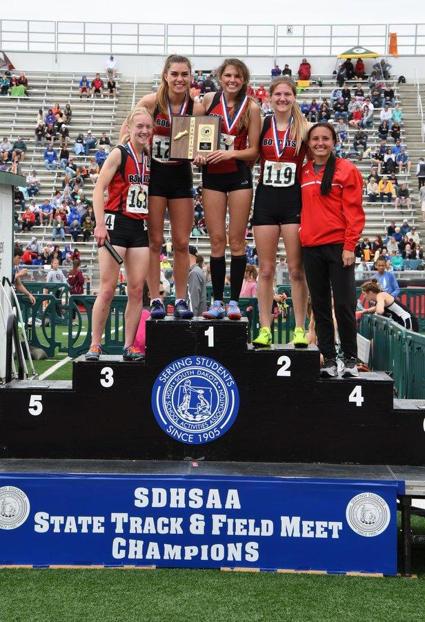 Girls Class AA: 1600 Meter Sprint Medley Relay