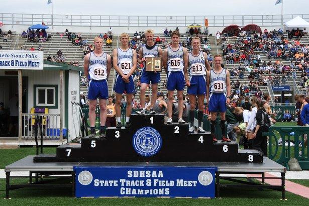 Class A Boys 1600m Medley Relay