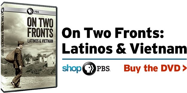 Shop PBS: On Two Fronts: Latinos & Vietnam (DVD)
