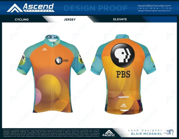 PBS Cycling Jersey