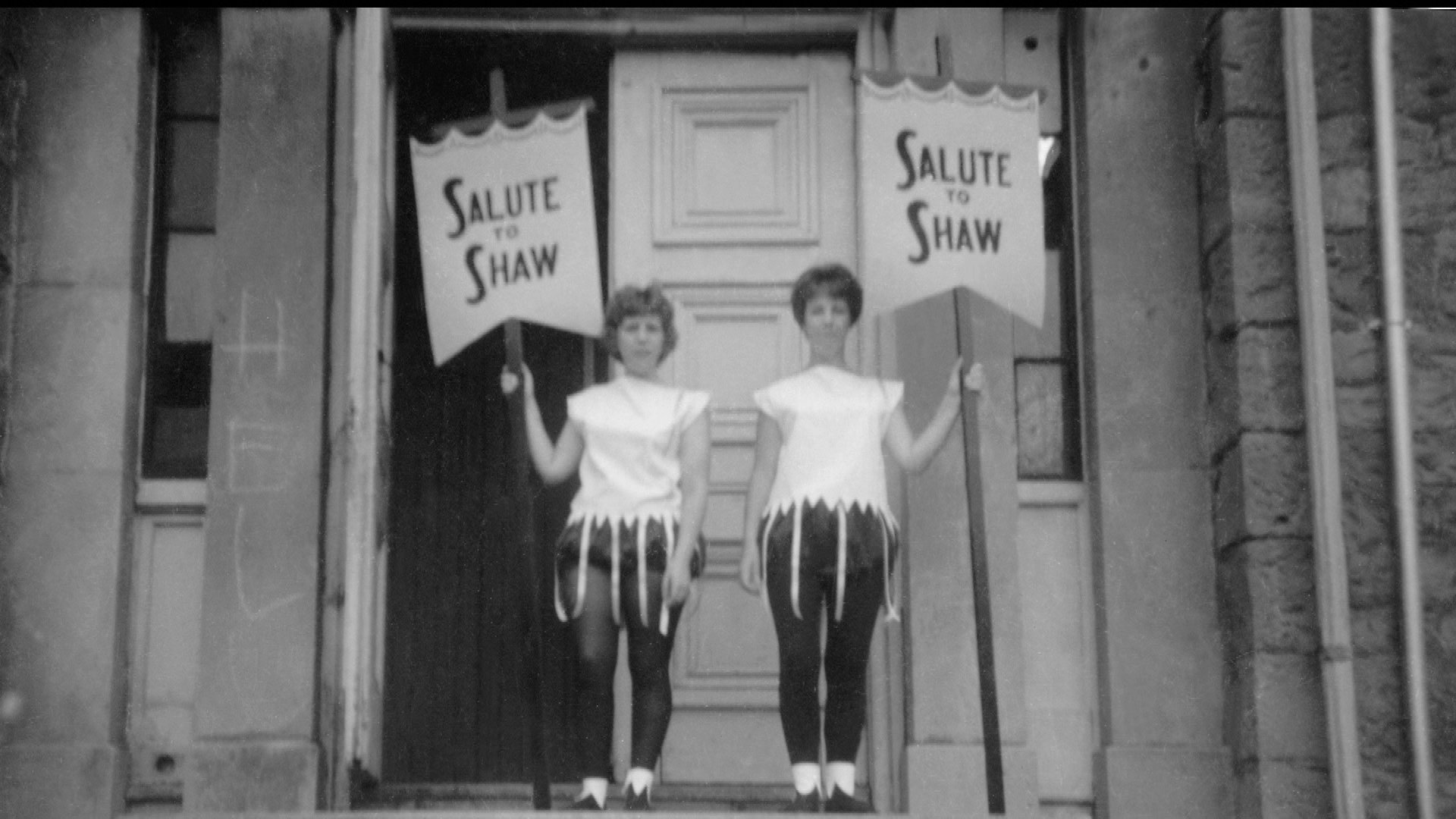 """Salute to Shaw"" at the Court House Theatre, 1962."